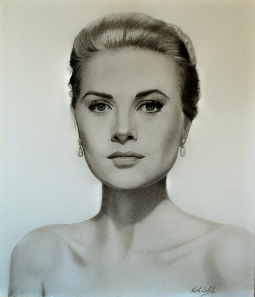 Grace Kelly por ktboldy